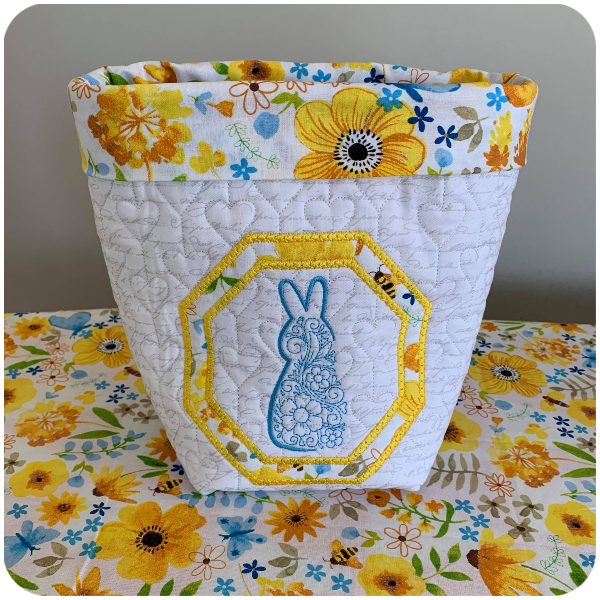 Darina Easter Delight Fabric Basket