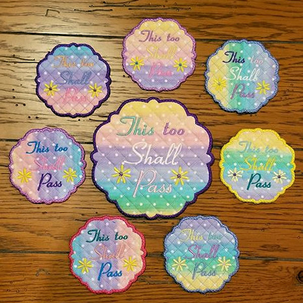 Dee - This too shall pass Free Coaster