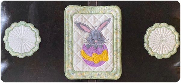 Easter Cutie samples by Bev