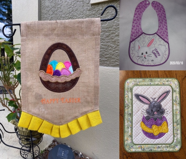Easter Cutie Samples by Sandy and Bev