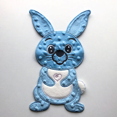 In the hoop Bunny Applique