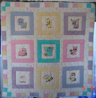 Applique Animal Quilt