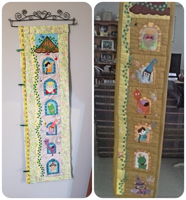 Fairy Castle Wall hanging samples