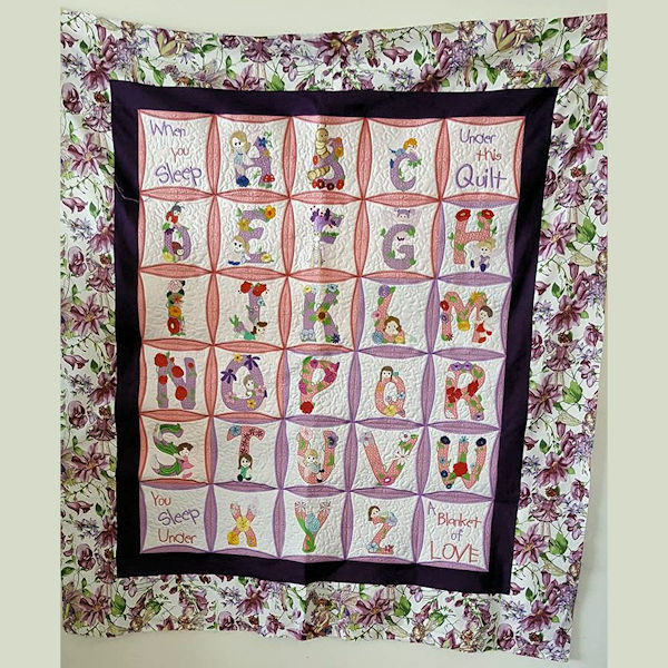 Fairy Floral Quilt by Christina