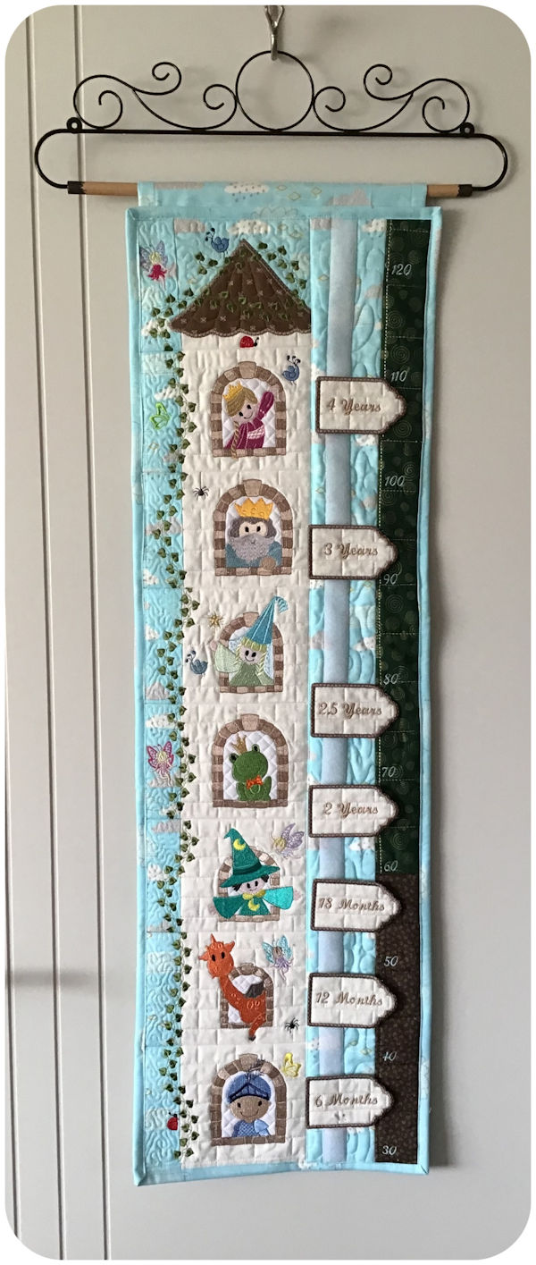 Fairytale Growth Chart by Darina
