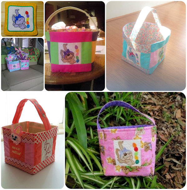 Free Easter Basket Project Samples