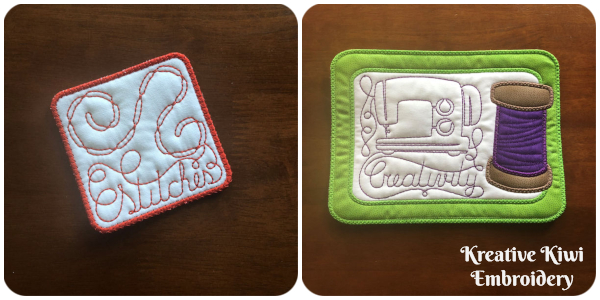 Free Coasters In the hoop Member Freebie