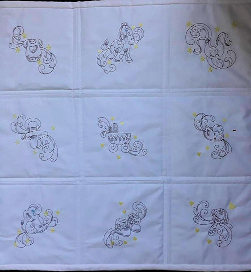 Free Baby Block Machine Embroidery Designs