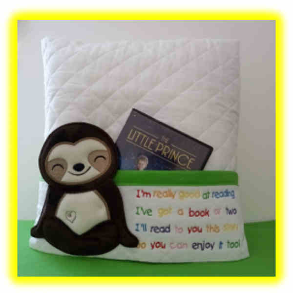 Sloth Reading Pillow