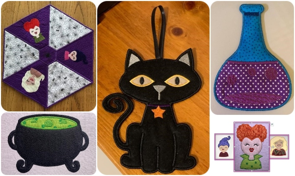 Halloween Designs by Cotton I Sew
