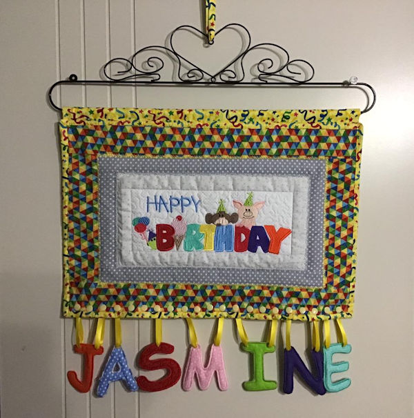 Happy Birthday Banner by Darina 1