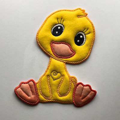Large Applique Duck