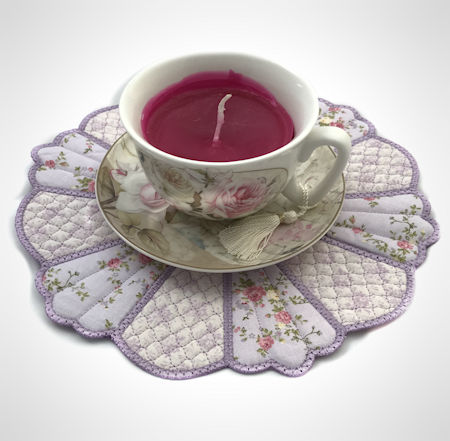 Teacup Dresden Placemat