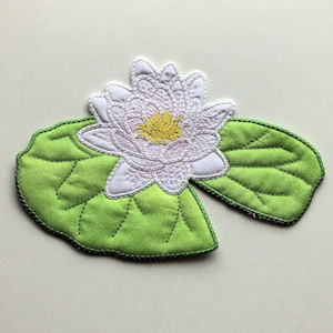 Water Lily Applique