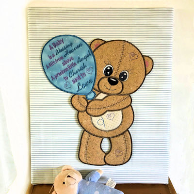 Teddy Bear Birth Announcement