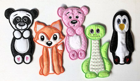 PANDA FOX TEDDY DINOSAUR PENGUIN BOOKMARKS