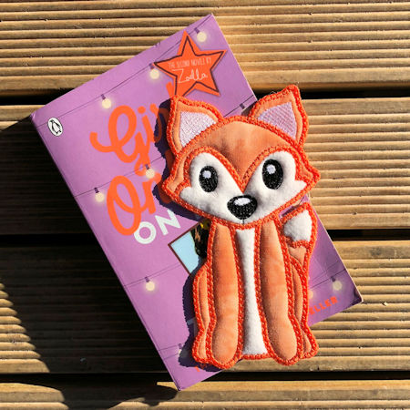 IN THE HOOP FOX BOOKMARK