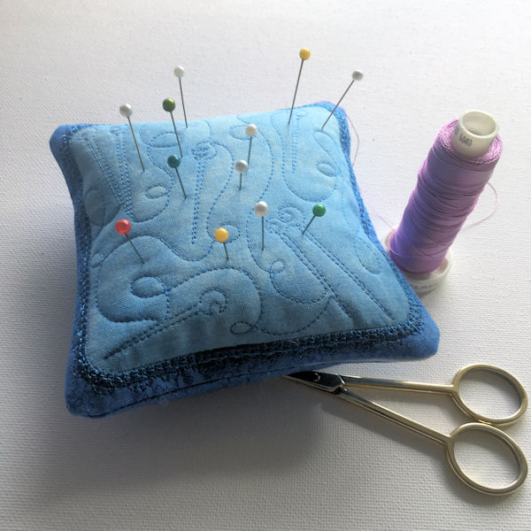 Pin Cushion in the hoop