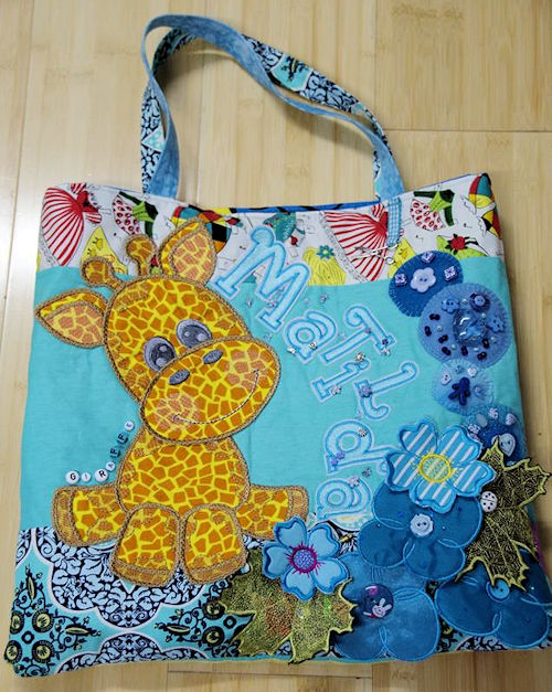 Giraffe Bag by KeKe Designs