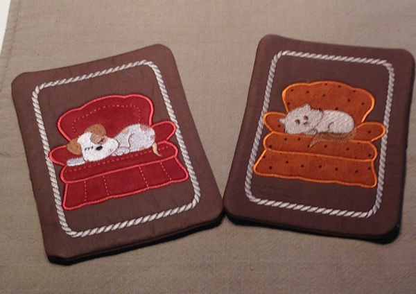 Couch Potatoes Coasters