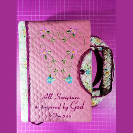 Bible Cover with straps