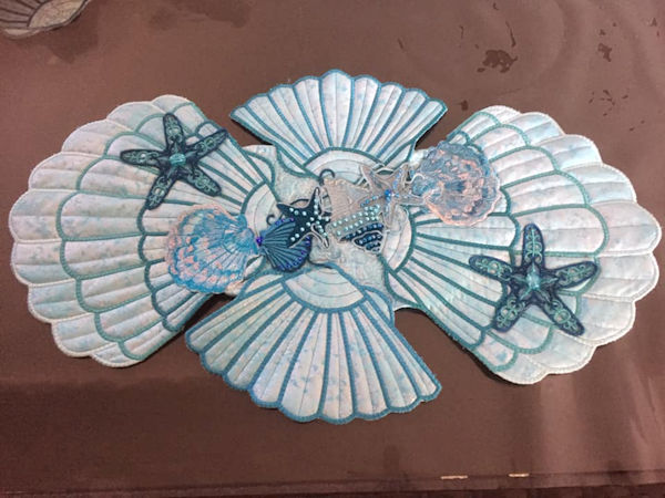 Seashell Placemat by Dianne