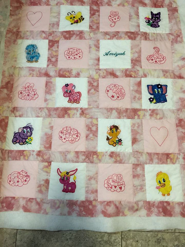 Judy Applique Quilt