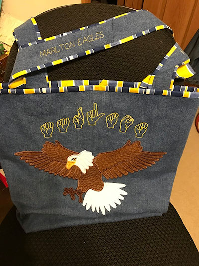 Large Eagle Bag