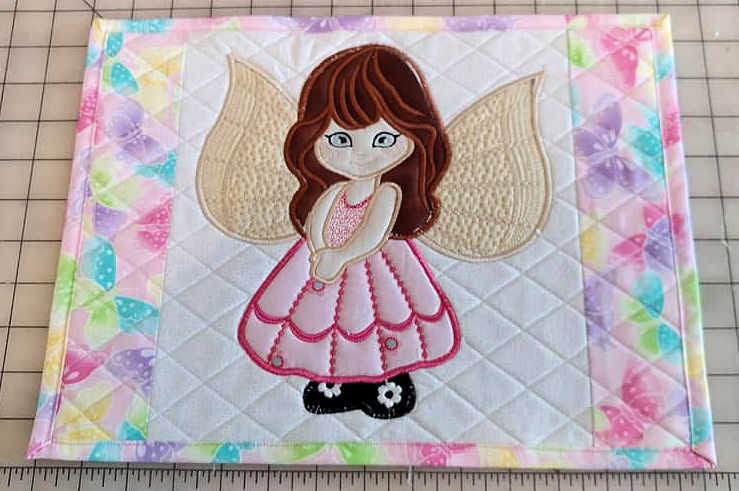 Fairy Placemat by Kathleen
