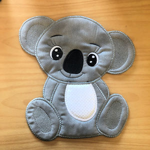 Large Koala plain version applique