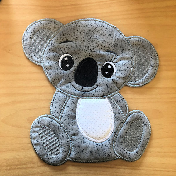 Large Boy Applique Koala