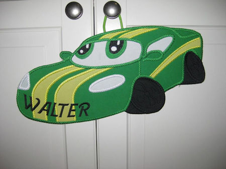 Car Applique In the hoop
