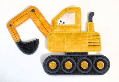 Large Applique Digger In the hoop 2708