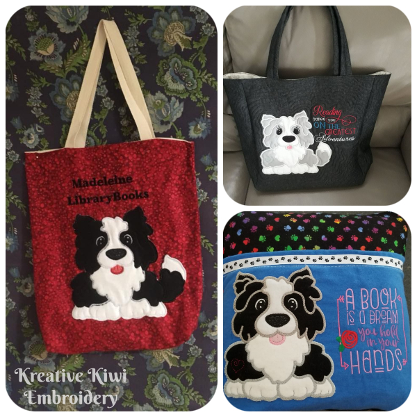 Large Applique Dog samples