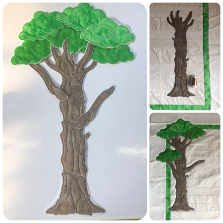 Large Applique Tree by Kreative Kiwi - 450