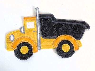 Large Applique Truck In the hoop - 400 -2708