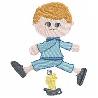 Free Little Boy embroidery design