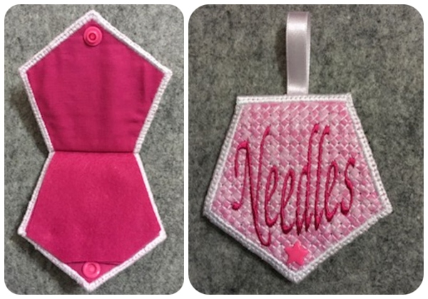 Needlebook Front by Fayes Thread-450