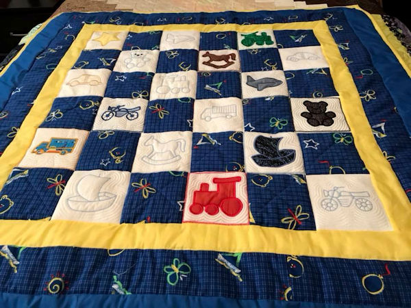 Quilt for Boy