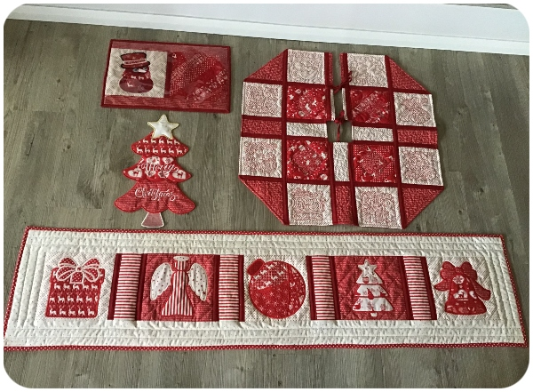 Free Table Runner and Tree Skirt