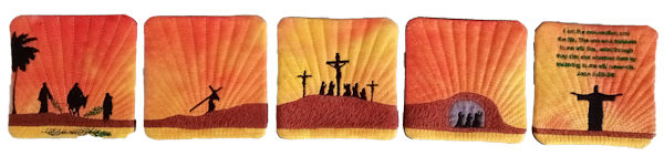 Resurrection Coaster Embroidey Designs
