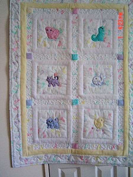 Rosalie Awesome Animals Quilt