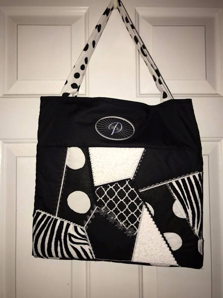 Crazy Patch Tote Bag