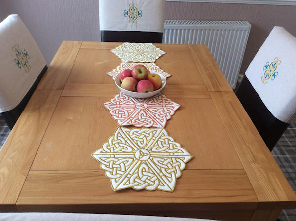 Celtic Table Runner
