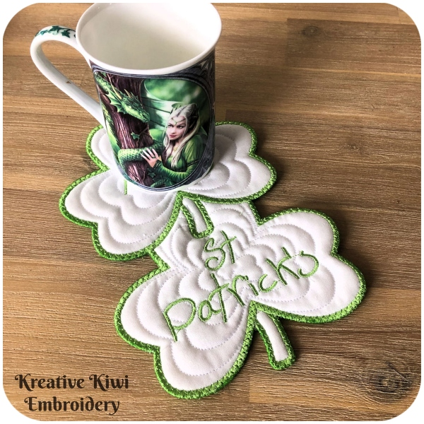Shamrock Coaster by Kreative Kiwi