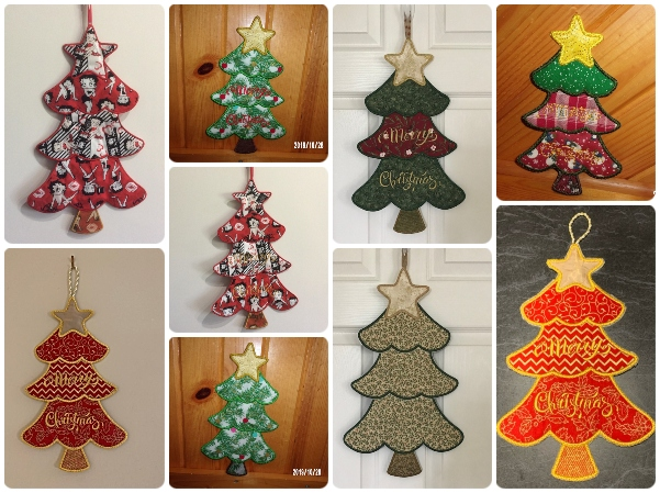 Stacked Christmas Tree samples by Admin Team