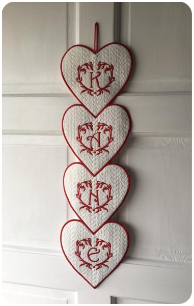 Stcaked Hearts by Julianna