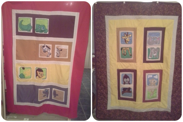 Jungle Animal Quilts by Sue