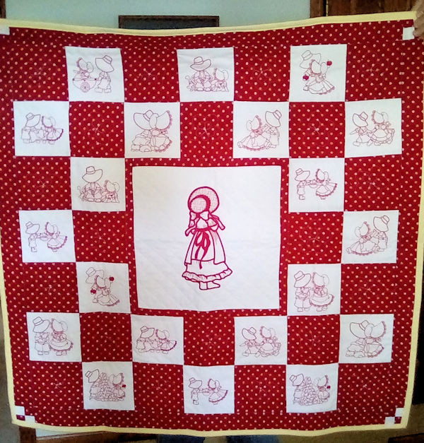 Sunbonnet Quilt by Joy