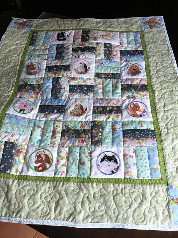 Animal Patches Quilt